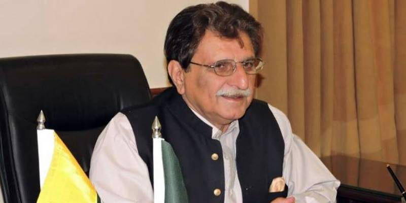 AJK premier slams Shahid Afridi over controversial comments on Kashmir