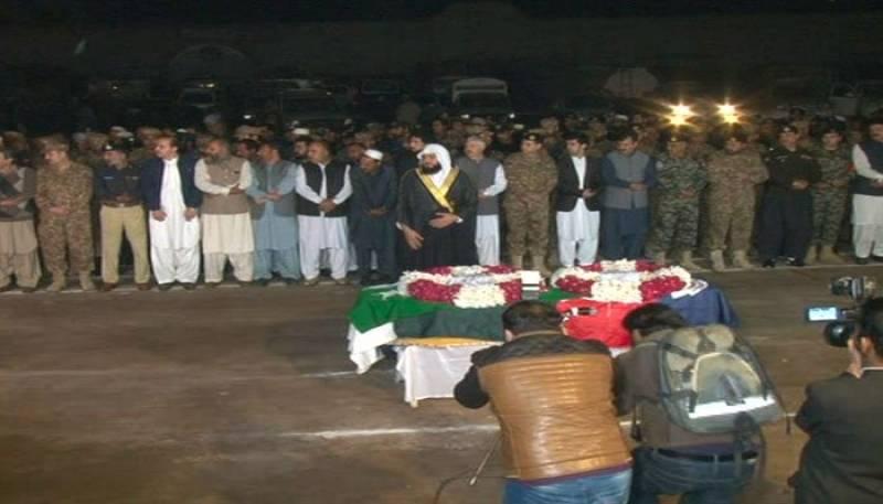 SP Tahir Dawar buried amid tears, tribute in Peshawar