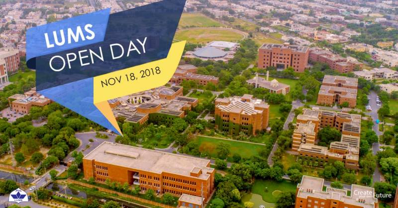 LUMS Open Day: Mapping the road to your future!