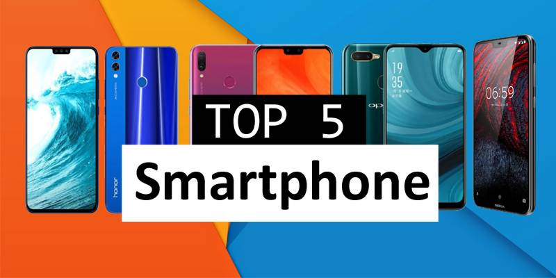 Top 5 trendy smartphones available under Rs45,000