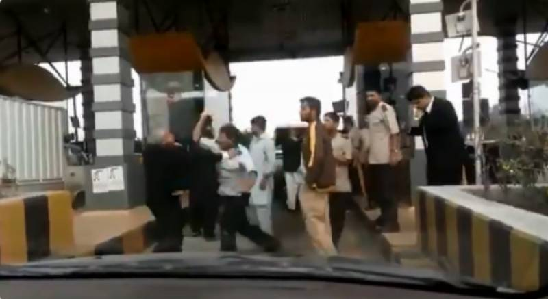 Did CJP's staff manhandle Motorway officials in toll tax rough-up? The reality behind viral video will shock you