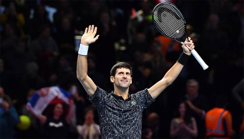 Djokovic beats Anderson 6-2, 6-2 to reach ATP Finals decider