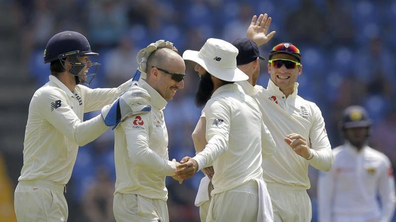 England win second Test to seal Sri Lanka series