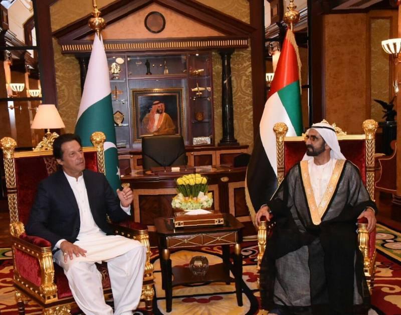 Pakistani PM, Dubai ruler discuss regional, global affairs