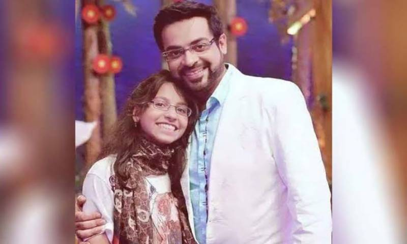Aamir Liaquat's former wife and daughter open up about his second wedding on social media