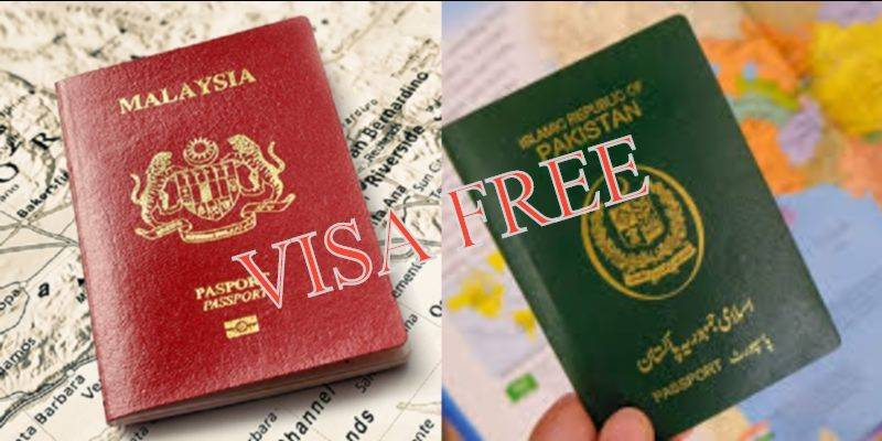 Pakistan, Malaysia ink deal to partially end visa requirement for travel