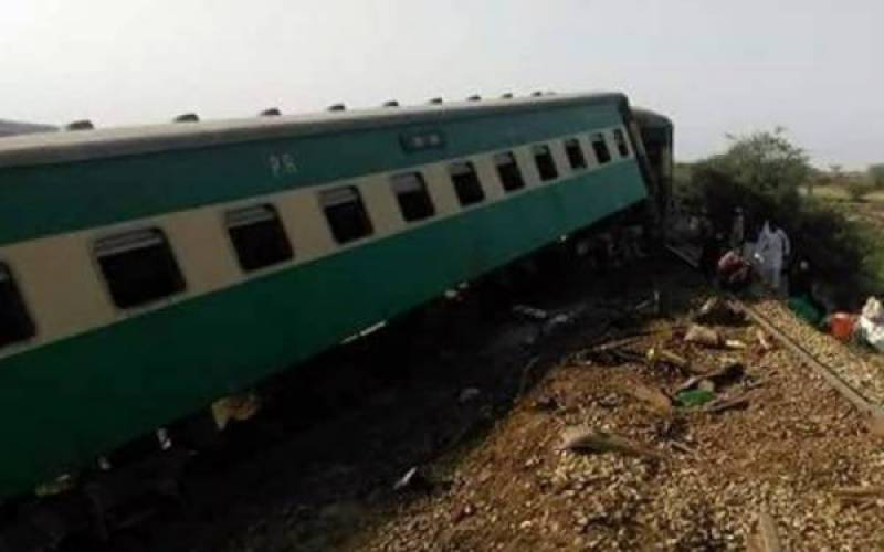 Khushhal Khan Express derailed for third time in 2 months