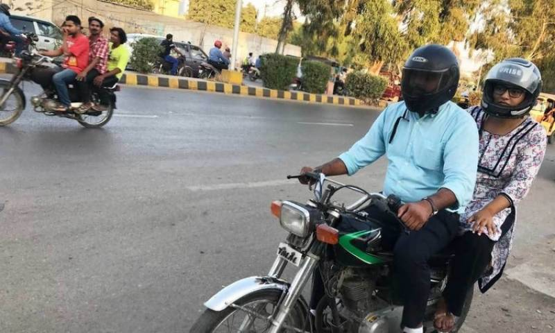 LHC declares helmet mandatory for pillion rider from Dec 1