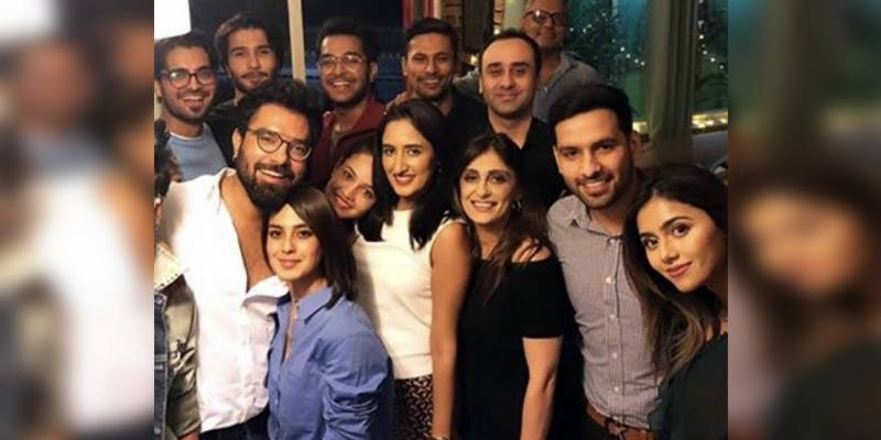 Iqra Aziz and Yasir Hussain celebrated their birthdays together last night