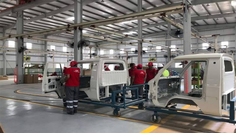 PM Imran opens Pakistan's first commercial vehicle assembly plant