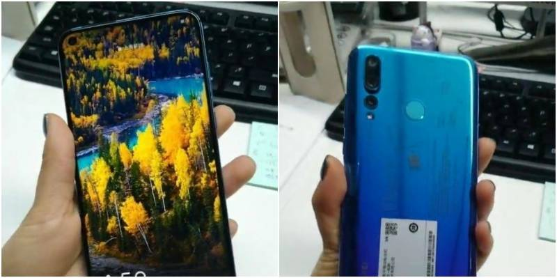 Is this world's first Hole-in-display smartphone? Pictures of Huawei nova 4 REVEALED