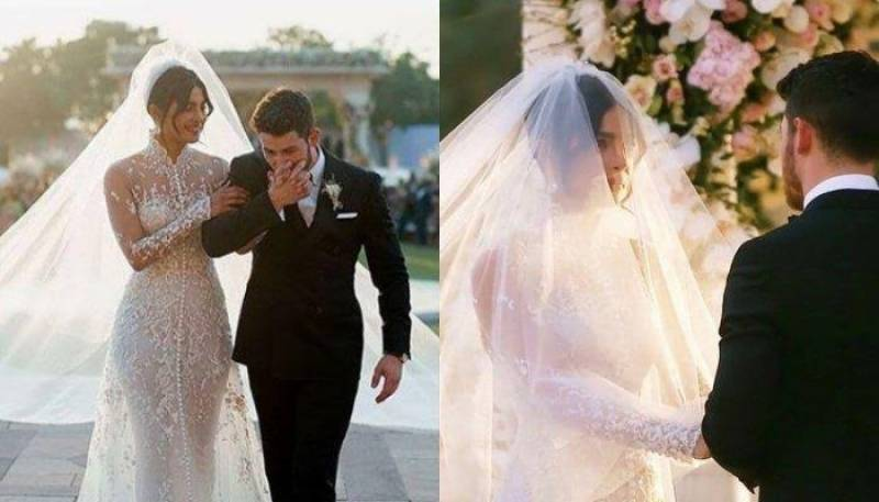 Behind the scenes of Priyanka Chopra's Christian wedding