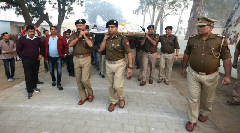 Indian soldier emerges as suspected killer of policeman in mob violence