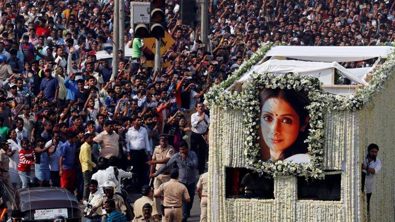 Throwback video reignites speculations about Sridevi's death