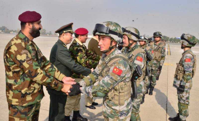 Warrior-VI: Chinese forces arrive in Pakistan for joint military drills