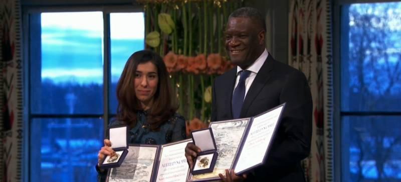 Denis Mukwege, Nadia Murad conferred with Nobel Peace Prize 2018