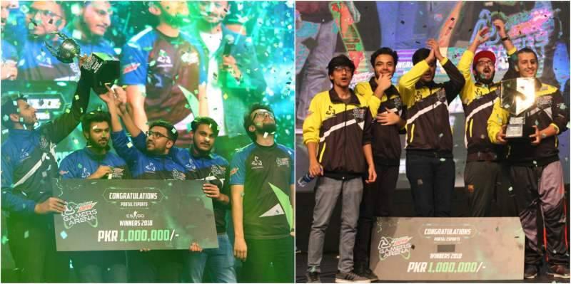 Dew Gamers Arena finale rocks Lahore as winning teams bag Rs1m each