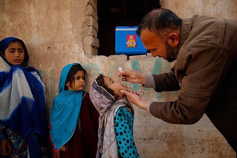 Five-day polio drive aims to vaccinate 38 million children in Pakistan