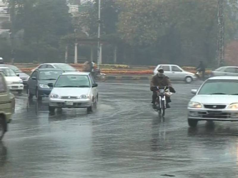 Rain in Punjab, snowfall in Murree and Kashmir turn weather cold
