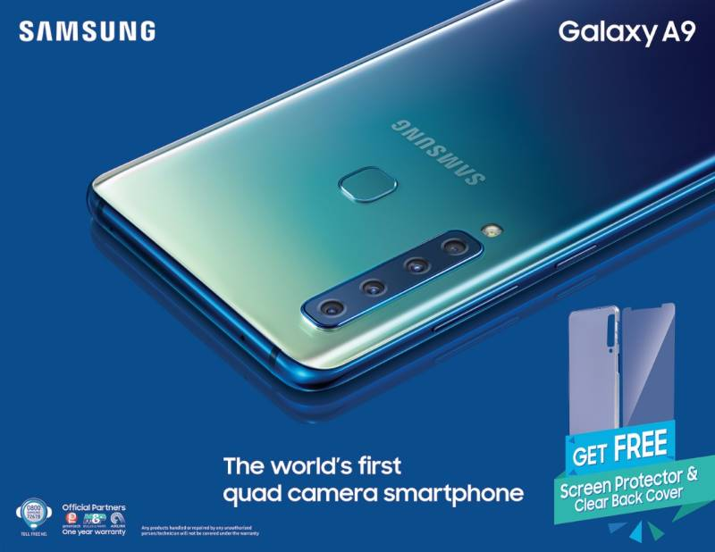 Samsung launches world's first quad camera 'Galaxy A9' in Pakistan