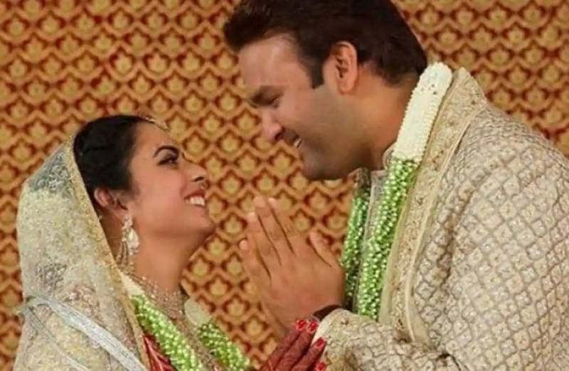 All the details of Isha Ambani's grand wedding