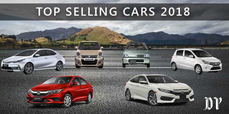 Top five best selling cars of 2018 in Pakistan