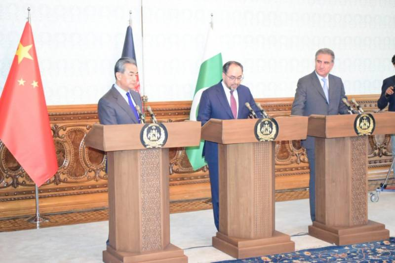 Afghanistan hosts Pakistan and China for peace talks