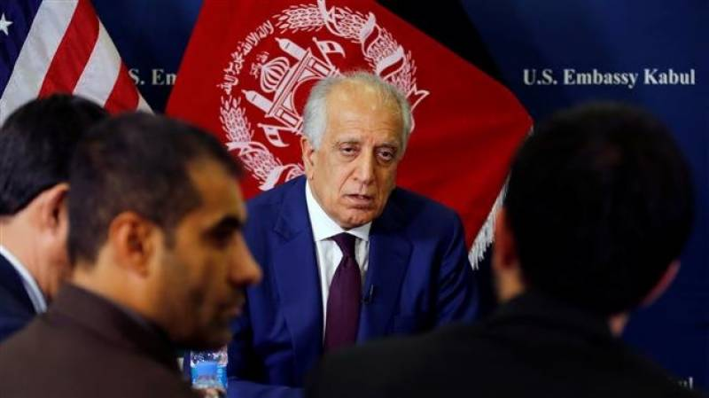 Pakistan hosts US, Taliban in UAE for peace talks