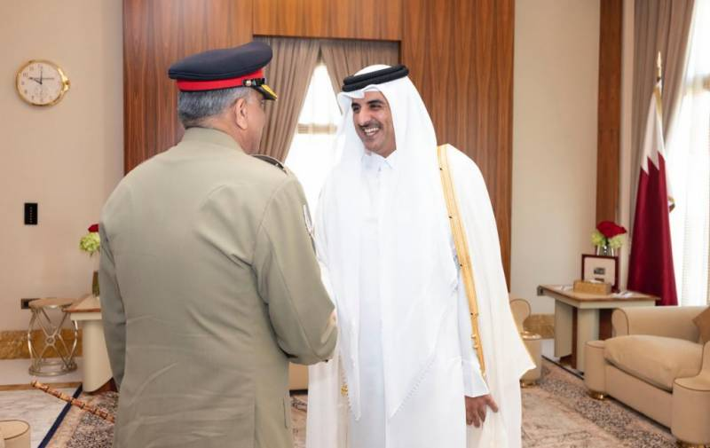 COAS Gen Bajwa lauds Qatar's role for Afghan peace process