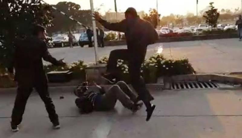 Nawaz Sharif's security guards booked for torturing TV cameraman