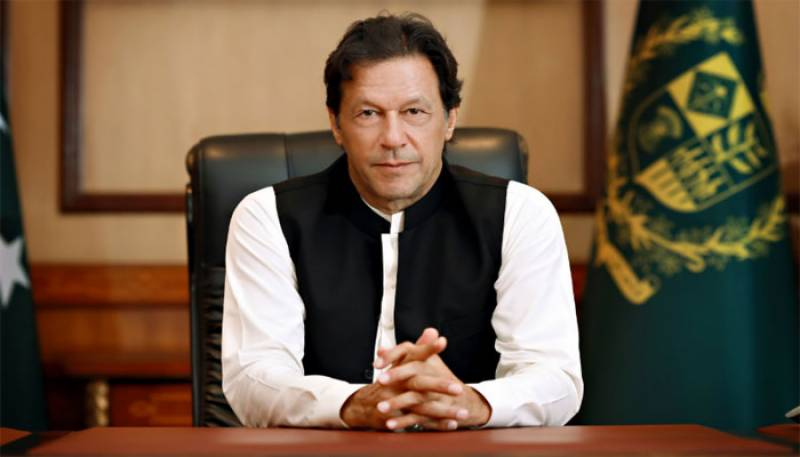 PM Imran vows to continue efforts for Afghan peace process