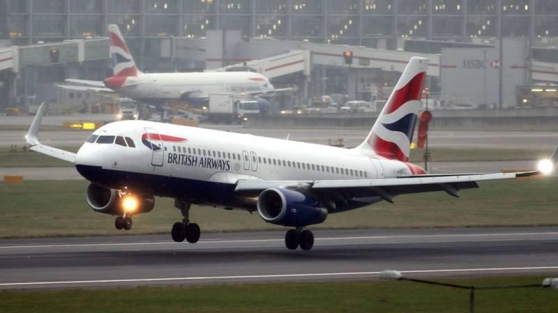 Here's how Twitter reacted to British Airways resuming flight operations