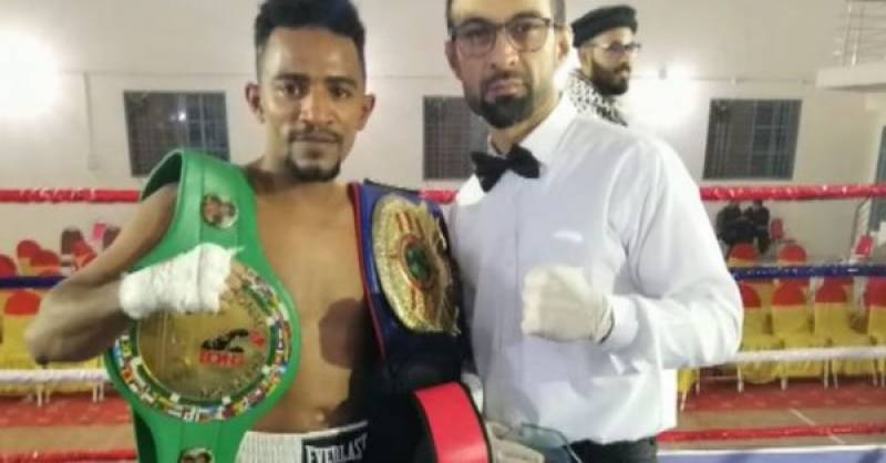 Pakistan's Nadir Baloch knocks Afghan boxer out in first round