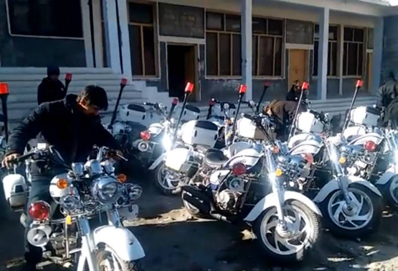 China gifts 50 motorcycles and 200 bulletproof vests for CPEC security