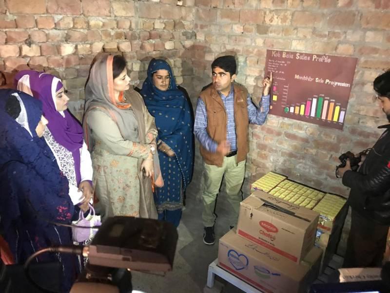 Parliamentarians visit Nestlé-Pakistan's BISP Rural Sales Program in Punjab