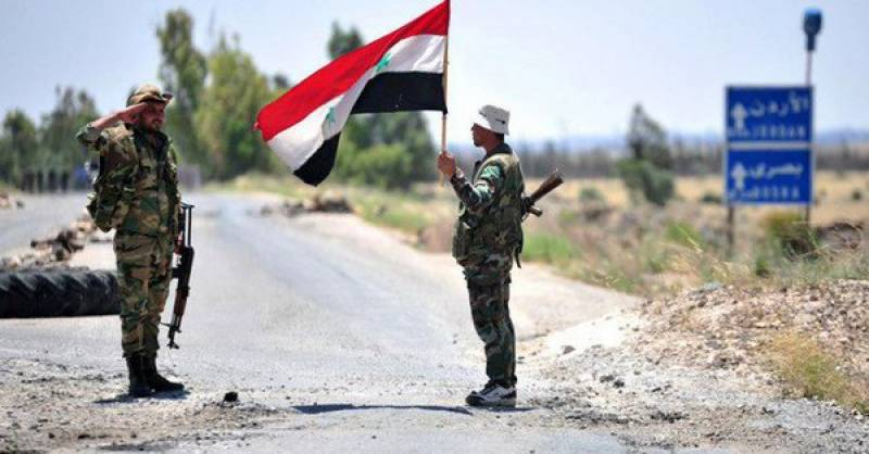 Syrian army enters key northern city after 6 years