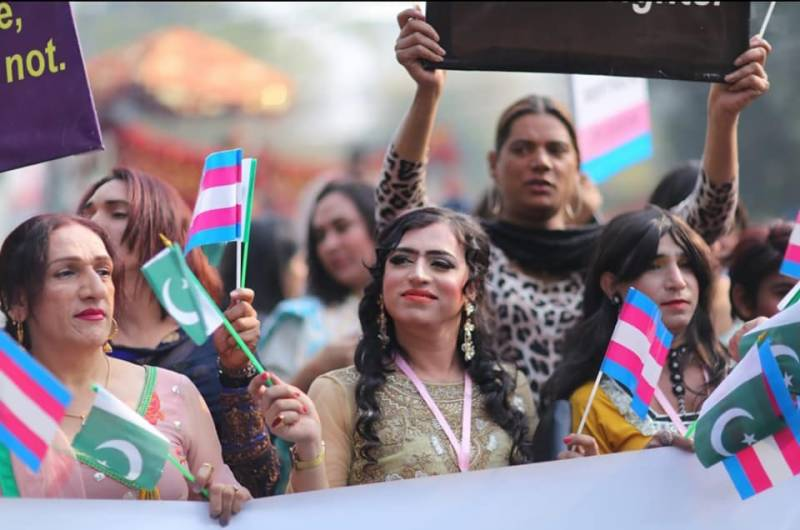 Pakistan's first ever trans-pride parade held in Lahore
