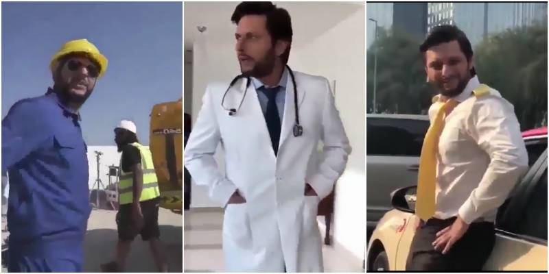 Afridi goes Arab in Expo 2020 ad