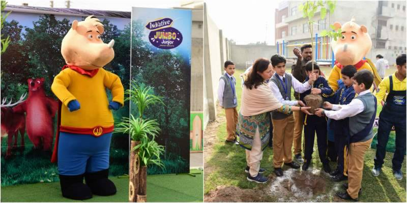 Innovative Jumbo Junior teaches children the importance of Green Pakistan