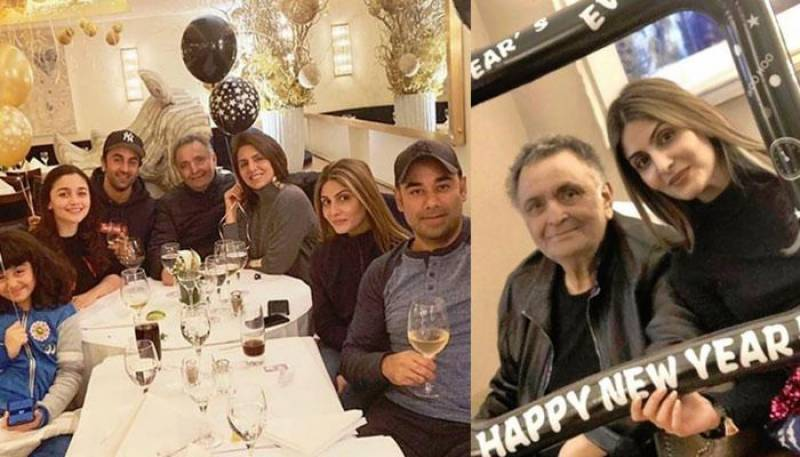 Neetu Kapoor's latest post hints at Rishi Kapoor possibly suffering from cancer