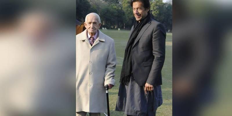 PM Imran Khan mourns his teacher's death