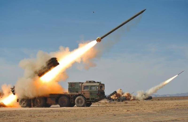 Pakistan Army inducts homemade A-100 rocket in its artillery arsenal