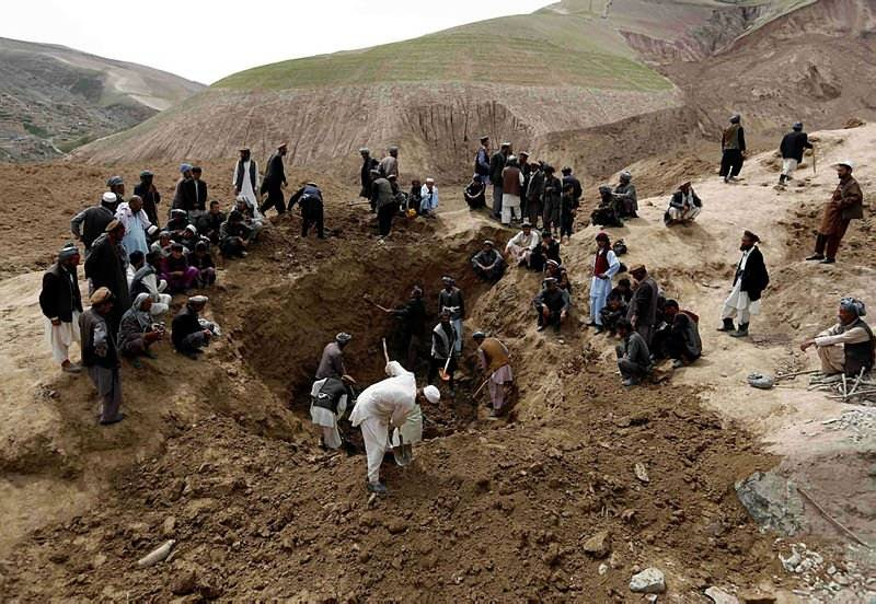 At least 30 killed in Afghanistan gold mine collapse