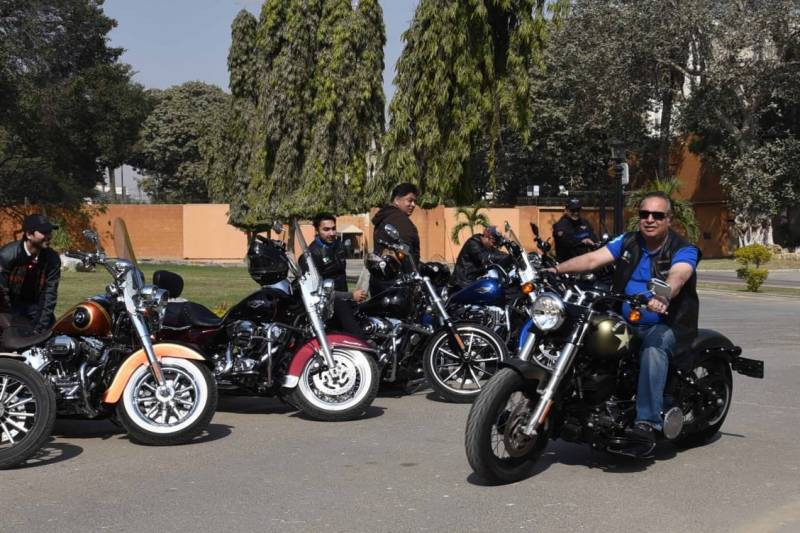 President, Sindh governor grace Harley Davidson Bikes Show in Karachi