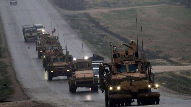 US-led coalition says Syria withdrawal has begun