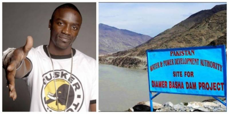 Akon asks Pakistanis to support dams fund in special video message