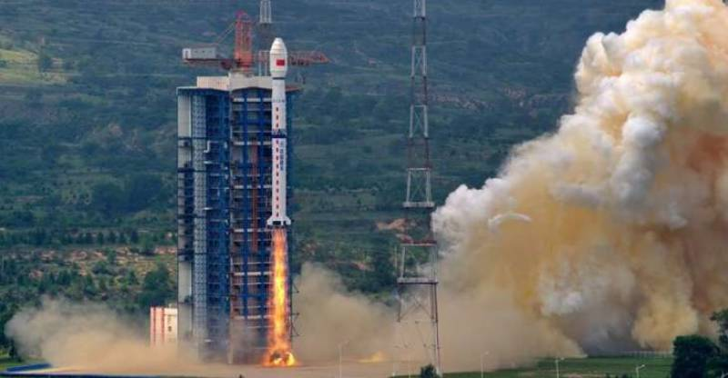 China launches maritime silk road satellite data service