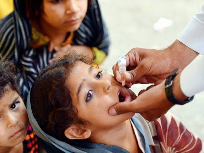 Polio virus detected from sewage in eight highly populated Pakistani cities