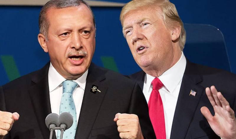 Turkey says will not be 'intimidate' by Trump threats over Kurdish militia