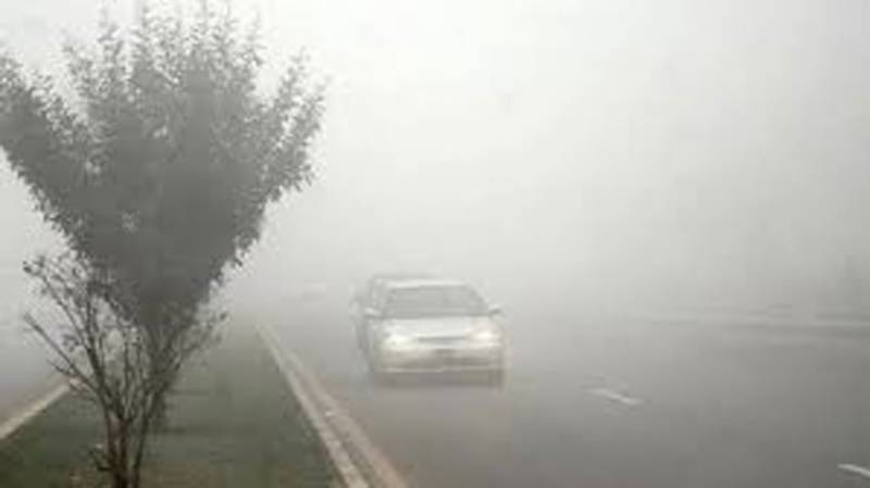 Motorway partially closed for traffic as dense fog covers Punjab plains